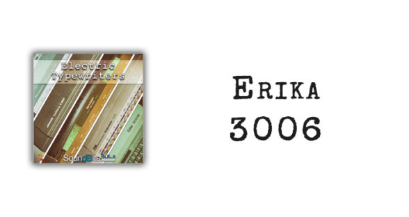 Electric Typewriters: Erika 3006