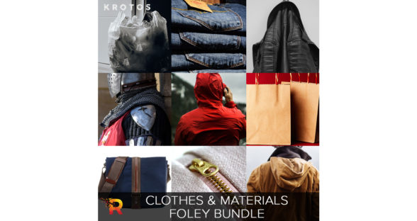 Krotos Clothes and Materials Foley Bundle